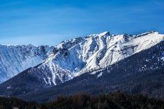 Alpi del calcare di Lech Valley Immagini Stock