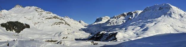 Alpi del distretto di Albula Fotografia Stock
