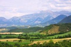Alpi del francese di Taillefer del massiccio Immagini Stock Libere da Diritti