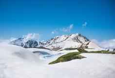 Alpi del Giappone l'attrazione turistica Fotografie Stock