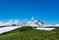 Alpi del Giappone l'attrazione turistica Immagini Stock Libere da Diritti