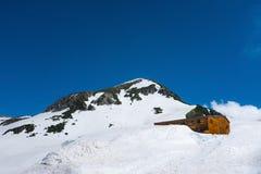 Alpi del Giappone l'attrazione turistica Fotografia Stock Libera da Diritti