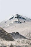 Alpi del Giappone, moutains di inverno con neve Fotografia Stock Libera da Diritti