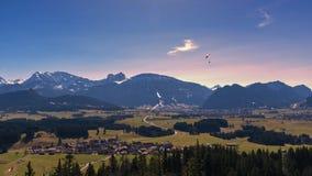 Alpi del lago e della Baviera Eibsee Immagine Stock Libera da Diritti