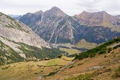 Alpi del Lichtenstein Fotografia Stock