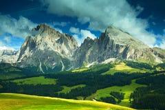 Alpi del Nord dell'Italia Fotografie Stock