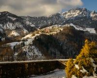 Alpi del nord italiane Immagini Stock