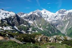 Alpi del paesaggio Immagini Stock