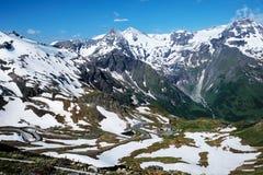 Alpi del paesaggio Immagini Stock Libere da Diritti