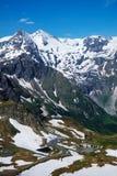 Alpi del paesaggio Immagine Stock Libera da Diritti