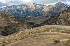 Alpi del sud Immagini Stock