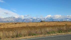 Alpi del sud Immagine Stock