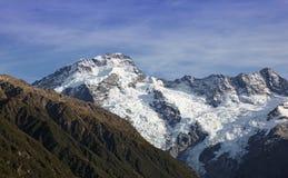 Alpi del sud della Nuova Zelanda Fotografie Stock