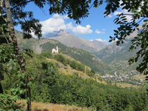 Alpi del sud, Francia Immagine Stock Libera da Diritti