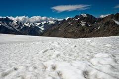 Alpi del sud Nuova Zelanda Fotografie Stock
