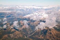 Alpi del sud Nuova Zelanda Fotografia Stock Libera da Diritti