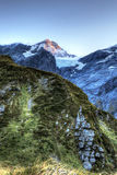 Alpi del sud, Nuova Zelanda Immagine Stock