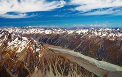 Alpi del sud, Nuova Zelanda Immagini Stock Libere da Diritti