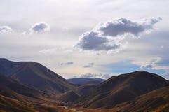 Alpi del sud, Nuova Zelanda Fotografie Stock Libere da Diritti