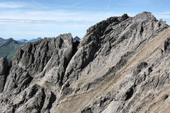 Alpi del Tirol Fotografia Stock