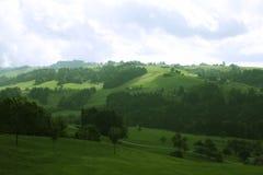 Alpi del villaggio Fotografie Stock Libere da Diritti