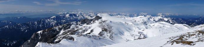 Alpi dell'Austria Immagini Stock