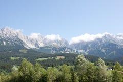 Alpi dell'Austria Immagine Stock Libera da Diritti