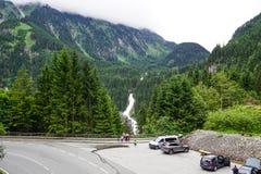 alpi dell'Austria Fotografia Stock Libera da Diritti