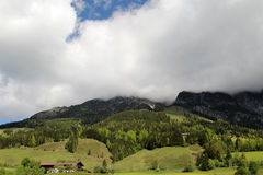Alpi dell'austriaco di estate Fotografie Stock Libere da Diritti