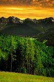 Alpi dell'Italia Fotografia Stock Libera da Diritti