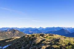 Alpi della Baviera del paesaggio Immagine Stock