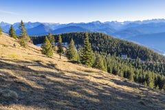 Alpi della Baviera del paesaggio Fotografia Stock