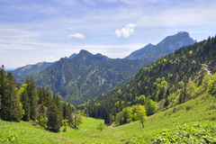 Alpi della Baviera di Breitenstein Fotografia Stock Libera da Diritti