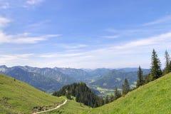 Alpi della Baviera di Breitenstein Immagine Stock Libera da Diritti