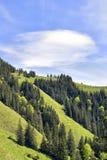 Alpi della Baviera di Breitenstein Immagine Stock