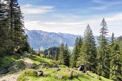 Alpi della Baviera di Breitenstein Immagini Stock