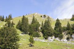 Alpi della Baviera di Breitenstein della sommità Fotografia Stock
