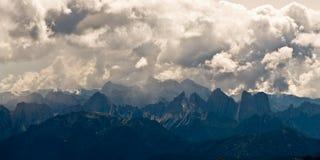 Alpi della dolomia in Italia Fotografia Stock Libera da Diritti