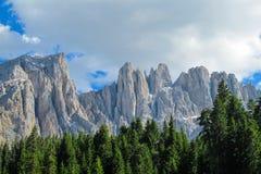 ALPI DELLA DOLOMIA, ITALIA Immagini Stock Libere da Diritti
