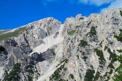 ALPI DELLA DOLOMIA, ITALIA Fotografie Stock
