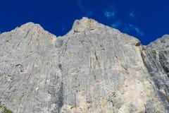 ALPI DELLA DOLOMIA, ITALIA Fotografia Stock