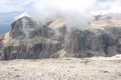 Alpi della dolomia, Pordoi Immagine Stock Libera da Diritti
