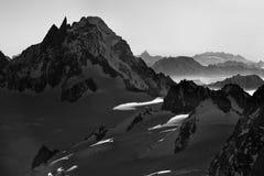 Alpi della Francia Fotografie Stock Libere da Diritti