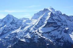 Alpi della montagna. Immagini Stock