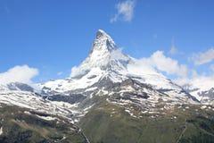 Alpi della montagna. Fotografia Stock Libera da Diritti