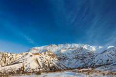 Alpi della montagna Immagine Stock Libera da Diritti