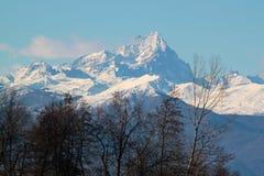Alpi della montagna Fotografia Stock