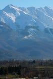 Alpi della montagna Fotografie Stock