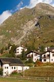 Alpi della montagna - valle Svizzera di Engadine Fotografia Stock Libera da Diritti