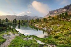 Alpi della natura di paesaggio in Italia Fotografie Stock Libere da Diritti